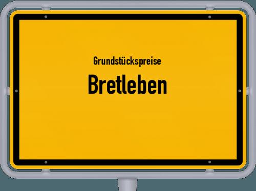 Grundstückspreise Bretleben 2019