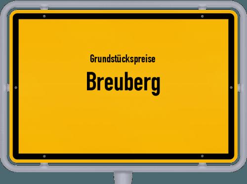 Grundstückspreise Breuberg 2018
