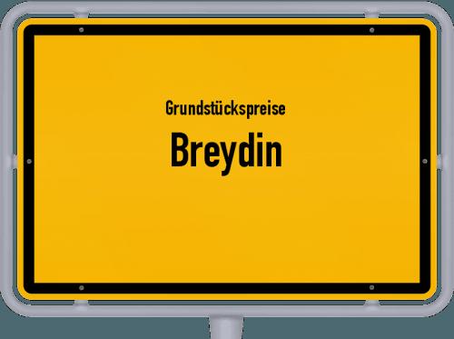 Grundstückspreise Breydin 2021
