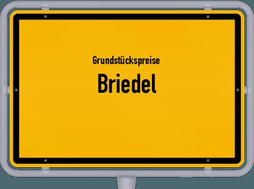 Grundstückspreise Briedel 2019