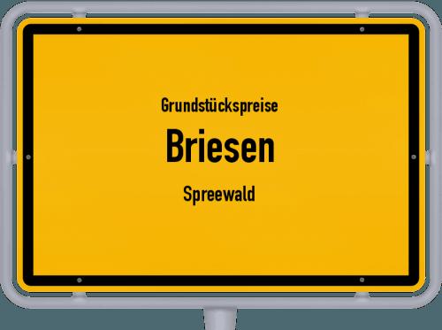 Grundstückspreise Briesen (Spreewald) 2021