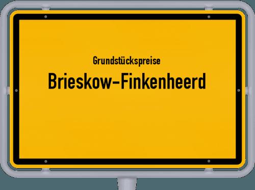 Grundstückspreise Brieskow-Finkenheerd 2021