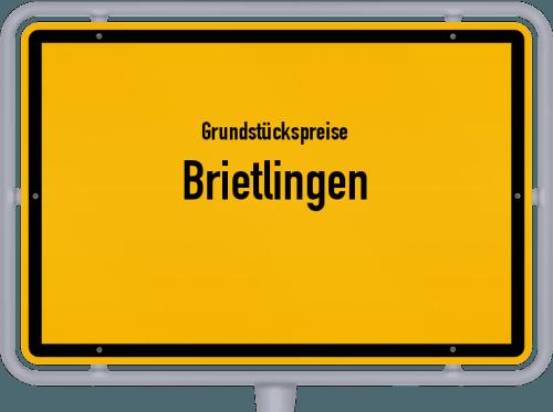 Grundstückspreise Brietlingen 2019