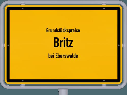 Grundstückspreise Britz (bei Eberswalde) 2021