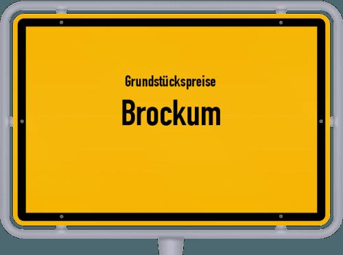 Grundstückspreise Brockum 2021