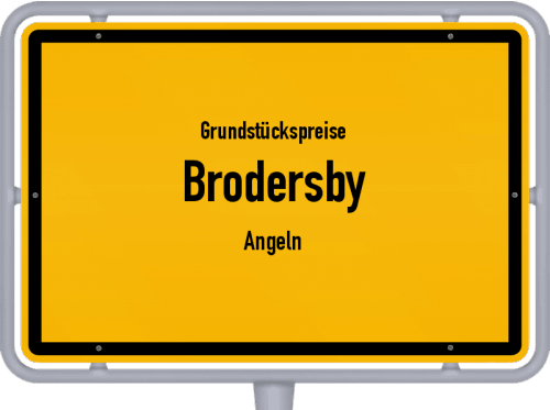 Grundstückspreise Brodersby (Angeln) 2021