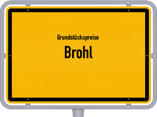 Grundstückspreise Brohl 2019