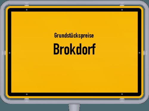 Grundstückspreise Brokdorf 2021