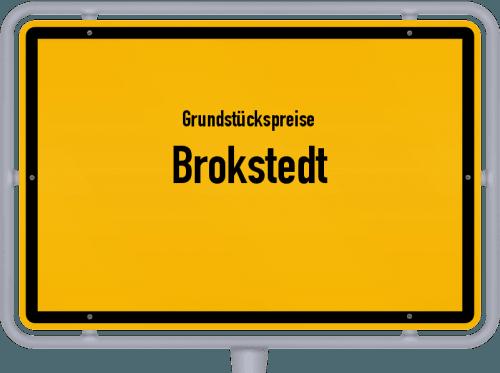 Grundstückspreise Brokstedt 2021