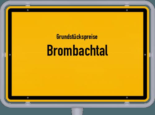 Grundstückspreise Brombachtal 2018