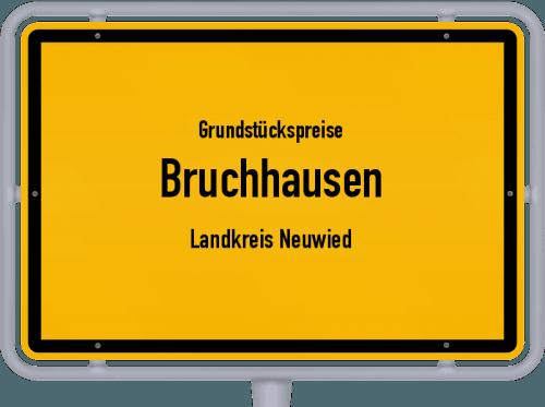 Grundstückspreise Bruchhausen (Landkreis Neuwied) 2019