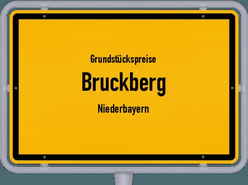 Grundstückspreise Bruckberg (Niederbayern) 2021