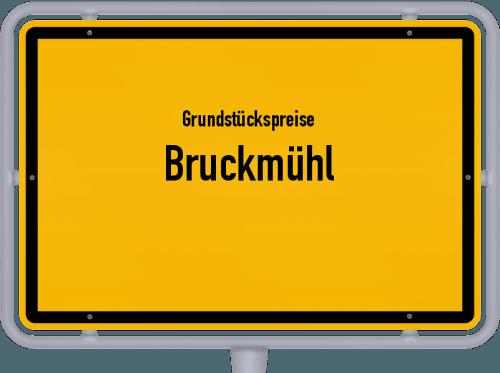 Grundstückspreise Bruckmühl 2019