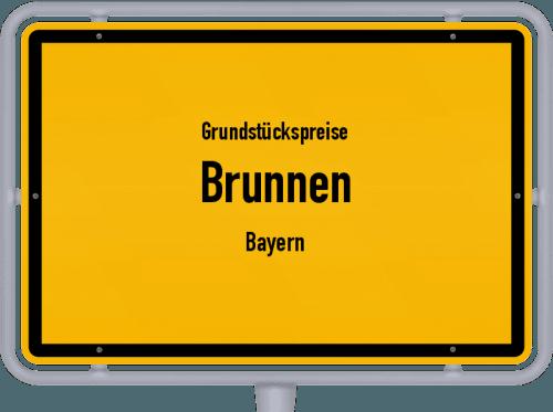 Grundstückspreise Brunnen (Bayern) 2021