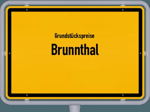Grundstückspreise Brunnthal 2019