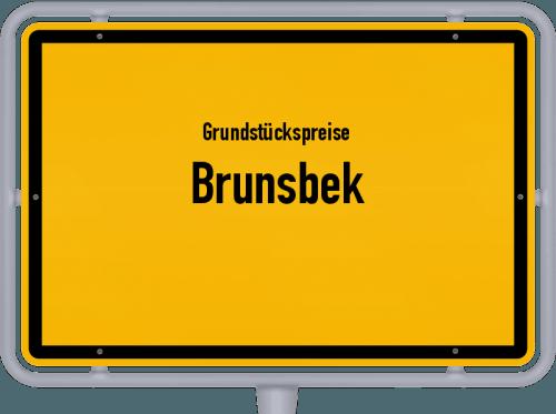 Grundstückspreise Brunsbek 2021