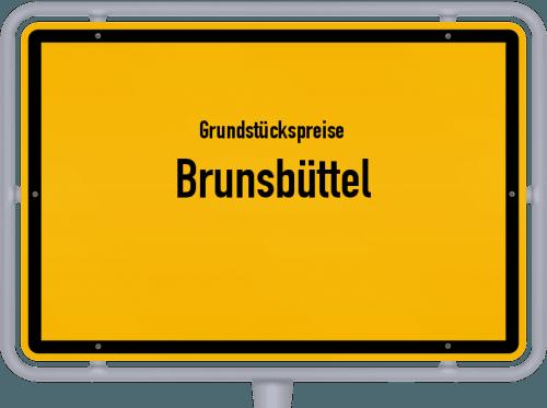 Grundstückspreise Brunsbüttel 2021