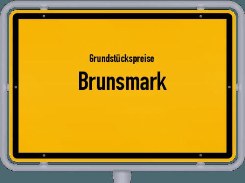 Grundstückspreise Brunsmark 2021
