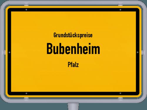 Grundstückspreise Bubenheim (Pfalz) 2019