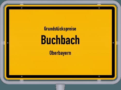 Grundstückspreise Buchbach (Oberbayern) 2021