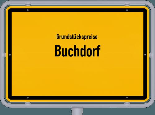 Grundstückspreise Buchdorf 2021