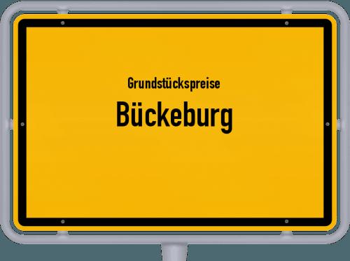 Grundstückspreise Bückeburg 2021