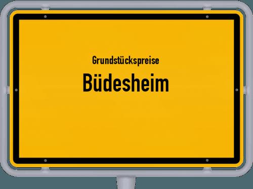 Grundstückspreise Büdesheim 2019