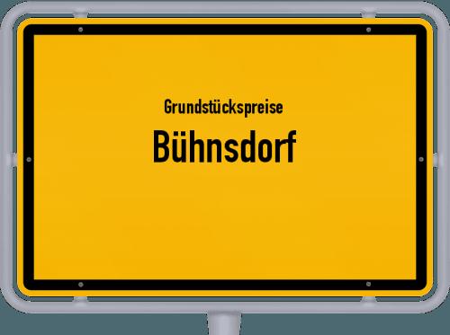 Grundstückspreise Bühnsdorf 2021