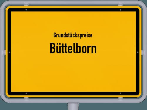 Grundstückspreise Büttelborn 2020