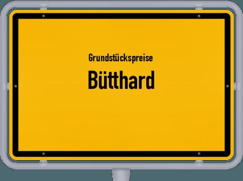 Grundstückspreise Bütthard 2019