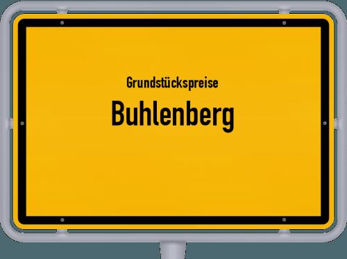 Grundstückspreise Buhlenberg 2019