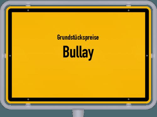 Grundstückspreise Bullay 2019