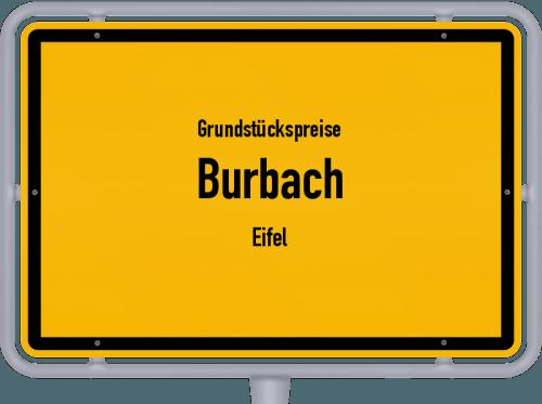 Grundstückspreise Burbach (Eifel) 2019