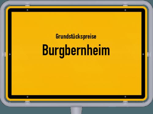 Grundstückspreise Burgbernheim 2019