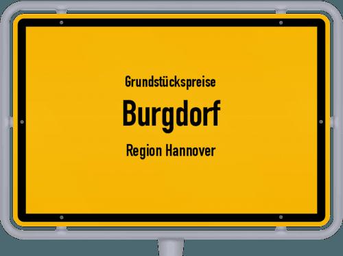 Grundstückspreise Burgdorf (Region Hannover) 2021