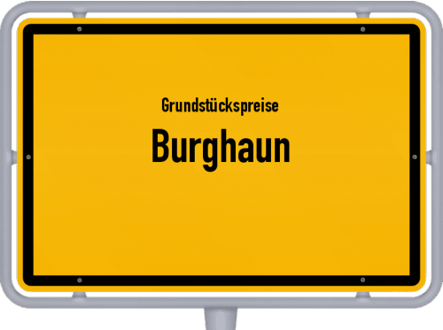 Grundstückspreise Burghaun 2018