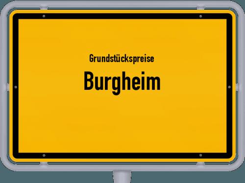Grundstückspreise Burgheim 2021
