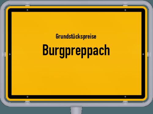 Grundstückspreise Burgpreppach 2019