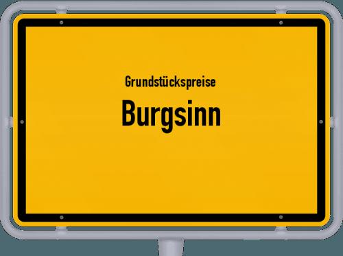 Grundstückspreise Burgsinn 2019