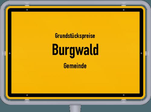 Grundstückspreise Burgwald (Gemeinde) 2018