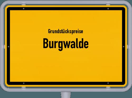 Grundstückspreise Burgwalde 2019