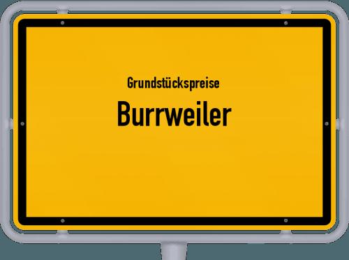 Grundstückspreise Burrweiler 2019