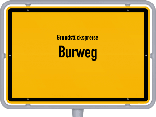 Grundstückspreise Burweg 2019