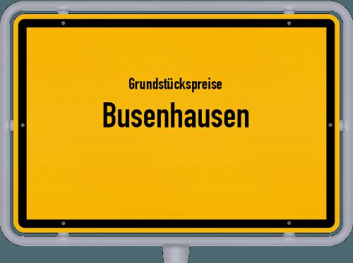 Grundstückspreise Busenhausen 2019