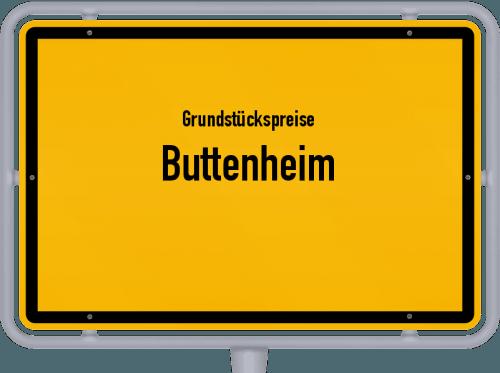Grundstückspreise Buttenheim 2019