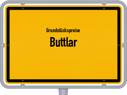 Grundstückspreise Buttlar 2019