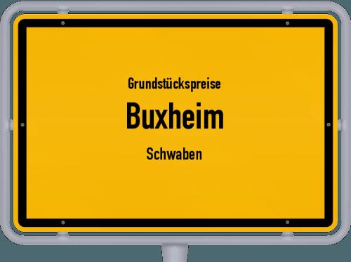 Grundstückspreise Buxheim (Schwaben) 2019