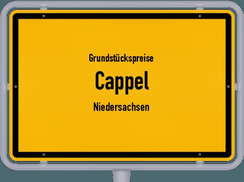 Grundstückspreise Cappel (Niedersachsen) 2021