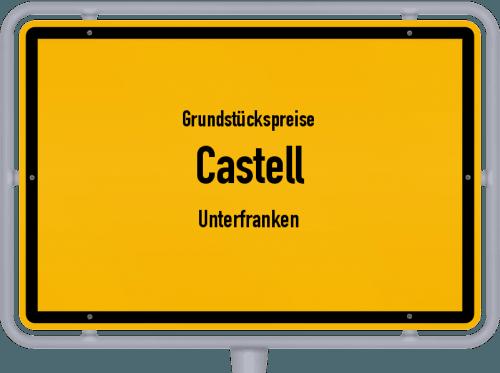 Grundstückspreise Castell (Unterfranken) 2019