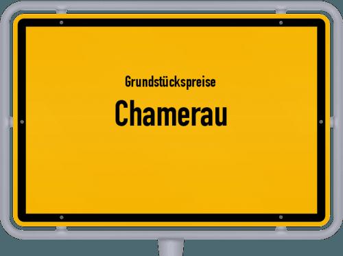 Grundstückspreise Chamerau 2021